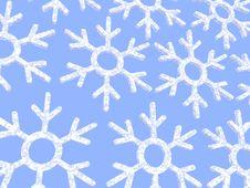 Free Snowflakes Background Royalty Free Stock Photos - 7065578