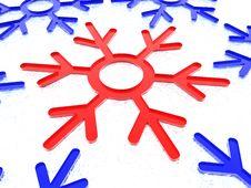 Free Magic Snowflake Royalty Free Stock Image - 7065636