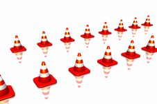 Free Traffic Cone Royalty Free Stock Images - 7065829