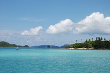 Blue Ocean In Thailandia Royalty Free Stock Photos