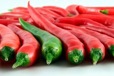 Free Colorfull Hot Chili Pepper Stock Images - 7066804