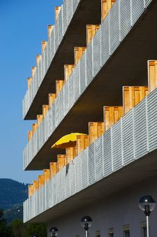 Free Detail Of Modern Exterior Royalty Free Stock Images - 7067729