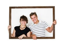 Free Framed Couple Royalty Free Stock Photo - 7067885