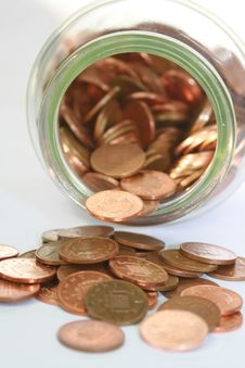 Free Counting The Pennies Royalty Free Stock Photography - 7067887