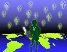 Free Business Man Stock Image - 7067991
