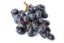 Free Ripe Grapes Isolated Royalty Free Stock Photo - 7068945