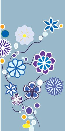 Free Abstract Floral Background Royalty Free Stock Images - 7069109