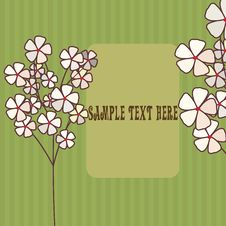 Free Abstract Floral Background Royalty Free Stock Image - 7069126