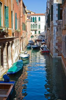 Free Venice Canal Royalty Free Stock Photos - 7077128