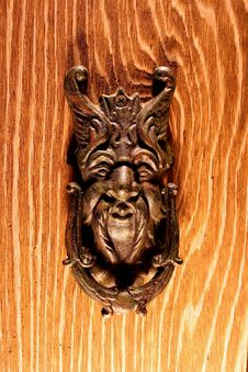 Free Door Knocker Royalty Free Stock Photo - 7078105