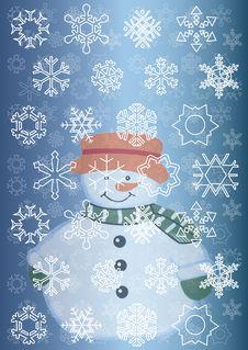 Free Snowman Stock Image - 7091681