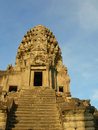 Free Stairway To Heaven Angkor Wat , Cambodia Royalty Free Stock Photography - 710487