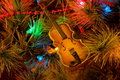 Free Christmas Violin Stock Photo - 711940