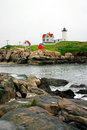 Free Cape Neddick Lighthouse, Maine Stock Photo - 714680