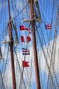 Free Ship Ropes Stock Photography - 716332