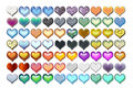 Free Hearts Illustration 06 Royalty Free Stock Images - 719649