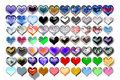 Free Hearts Illustration 09 Stock Photo - 719670