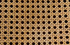 Free Woven Split Cane Stock Photography - 710002