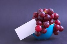 Free Grapes In Cup Royalty Free Stock Photo - 710405