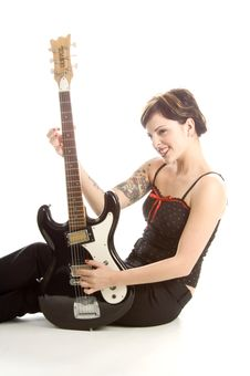 Free Rock N Roll And Women Stock Image - 710821
