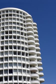 Free Sixties Cylindrical Apartment Royalty Free Stock Image - 710926