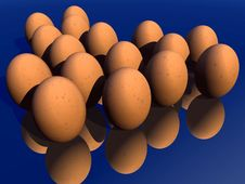 Free Eggs 20 Royalty Free Stock Photography - 711747