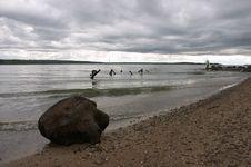 Free Fisherman Stock Image - 712351