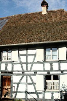 Free Alsacian Village Stock Image - 712971