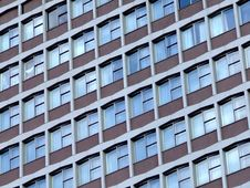 Free Skyscraper Window Detail In London Royalty Free Stock Images - 713079