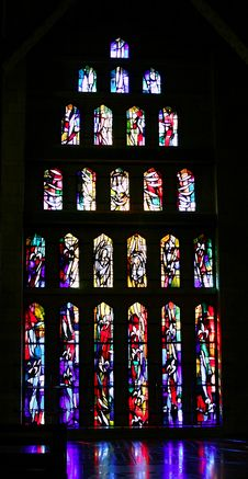 Free Stained-glass Window. Stock Images - 714494