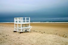 Free Kennebunk Beach, Maine Royalty Free Stock Images - 714709