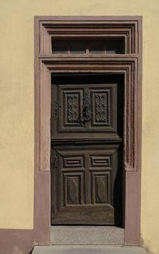 Free Blieskastel Door Royalty Free Stock Photo - 714775