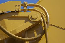 Free Excavator Detail Stock Photography - 715202