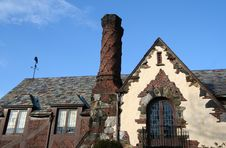 Free Tudor Brick Home Stock Images - 715604