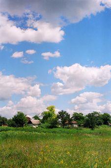 Free Villidge In Hte Ukraine Stock Photography - 716442