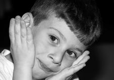 Free Childs Expression Royalty Free Stock Photos - 717008