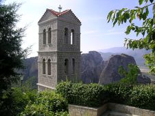 Monastery In Metéora Stock Image