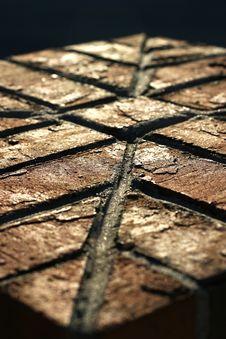 Free Brick Column Royalty Free Stock Image - 717586