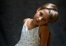 Free Olga S Portrait - 3 Stock Image - 719151