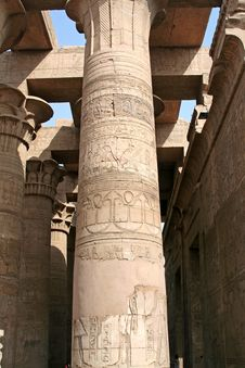 Free Temple Of Kom Ombo Royalty Free Stock Photography - 719497