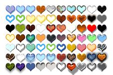 Free Hearts Illustration 07 Royalty Free Stock Images - 719659