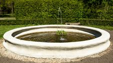 Free Fountain In The Castle Garden Stock Image - 71000721