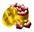 Free Hearts Gift, Valentine, Heart, Love Royalty Free Stock Photo - 7120495