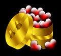 Free Hearts Gift, Valentine, Heart, Love Stock Image - 7120501