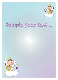 Free Baby Angel Stock Image - 7136251