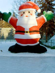 Free Happy Christmas Santa Stock Image - 7179791