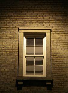 Free Mysterious Window Stock Image - 720411