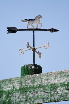 Free Weather Vane Royalty Free Stock Photography - 720807