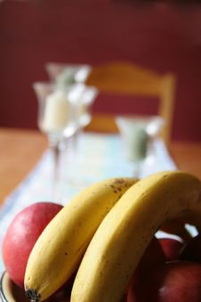 Free Fruit Bowl Royalty Free Stock Photography - 720887