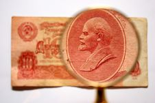 Old Cash Ruble Russian